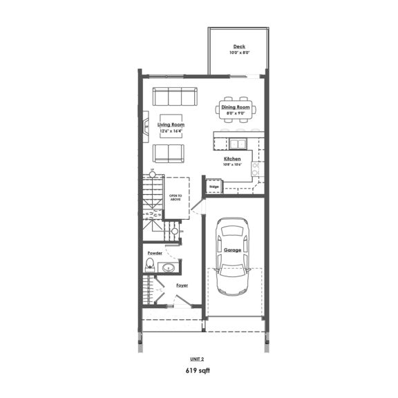 Unit 2 Floorplan Main Floor